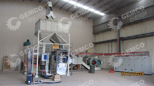 2 ton per hour wood pellet plant in Australia