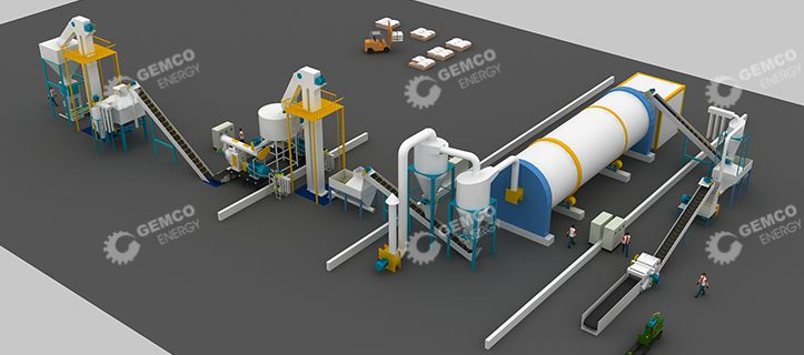 3D Diagram of Biomass Complete Projects