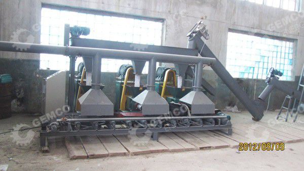 biomass briquetting plant