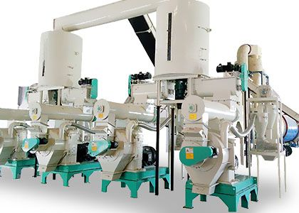 large pellet production line