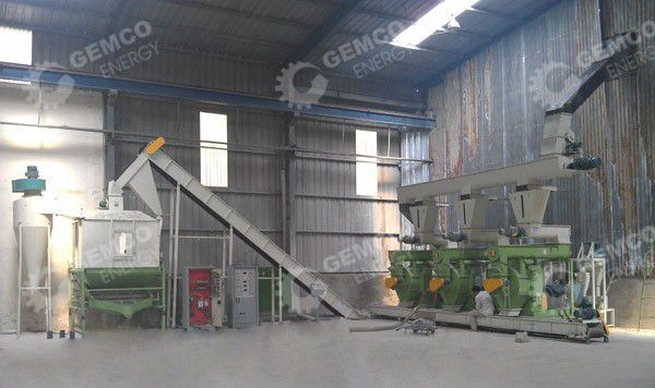 5-6 ton per hour pellets production line