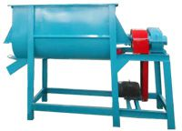 9HWP500 Mixer for small feed pellet plant