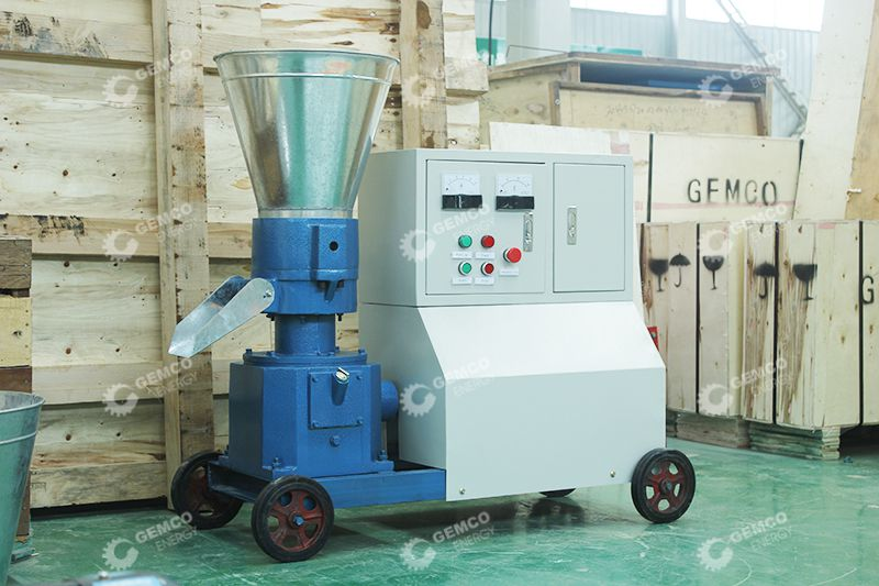 D-type Pellet Mill With CE Motor