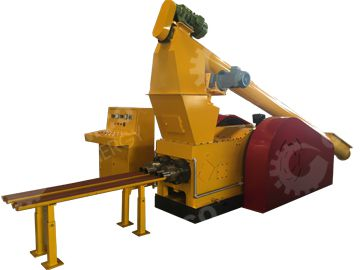 Double Headed Punching Briquette Machine