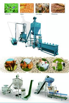 Export Commodities Fair feed mill