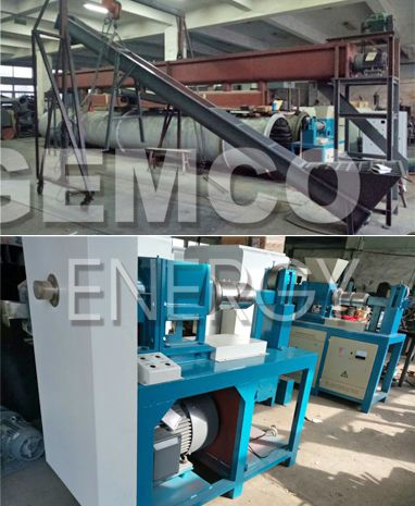GEMCO charcoal briquetting machine factory