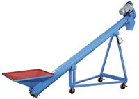 LS Series Screw Conveyor for pellet plant