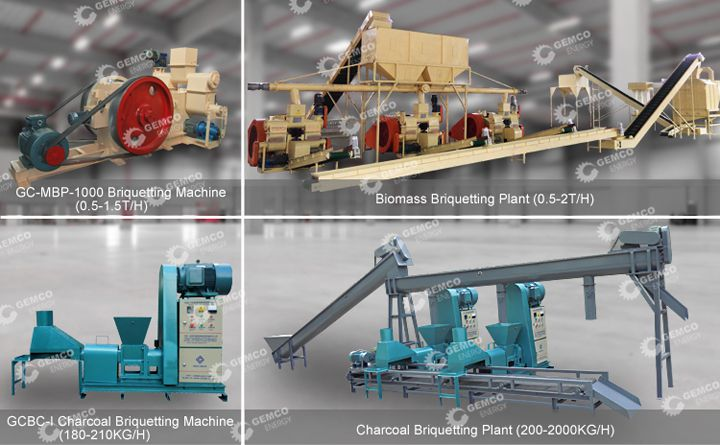 GEMCO - The Largest Briquette Machine Manufacturer in China