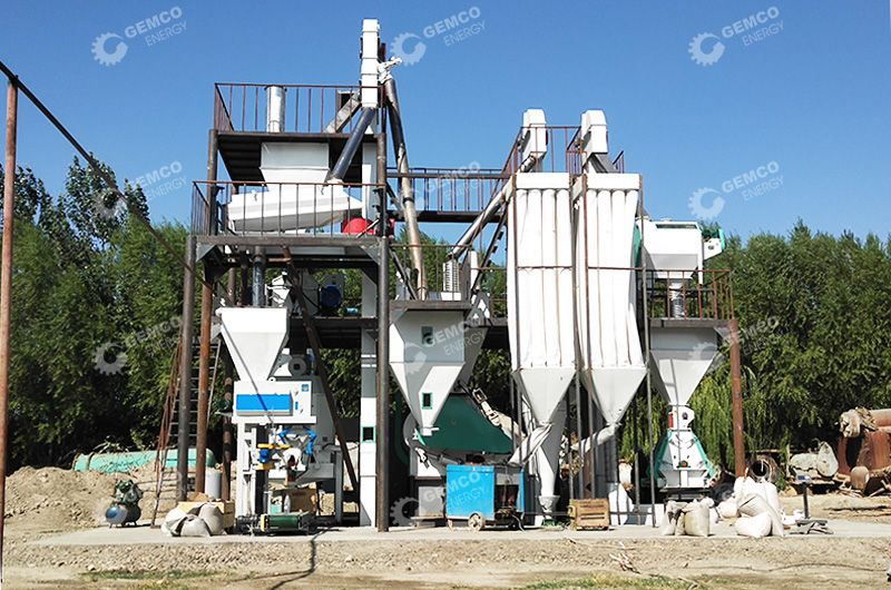 Animal Feed Processing Plant Project in Uzbekistan