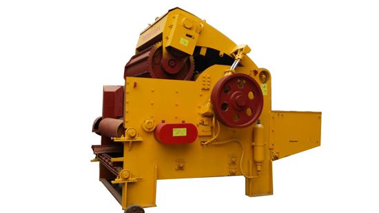 belt feeding type crushing machine