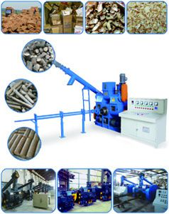 biomass briquette production line