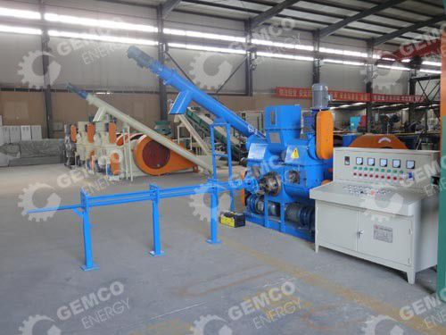 biomass briquetting and pelletizing plant