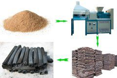 charcoal briquette machine design keeps up with the times