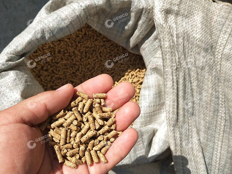 Cattle Feed Pellets Produced for Sales