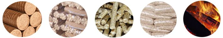 commercial use briquettes and pellets