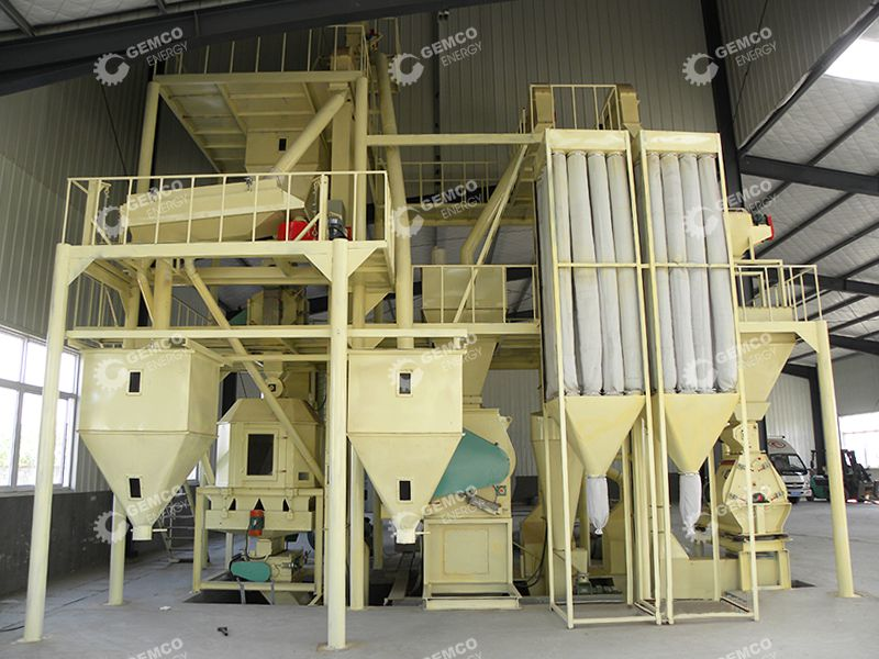 Complete Poultry Mill Plant