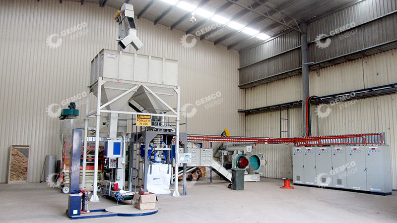 Complete Wood Pellet Production Line in Australia