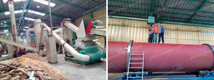 crusher and rotary dryer