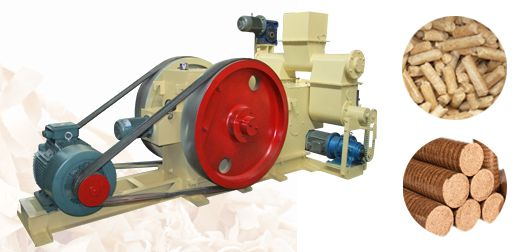 Recycled Wood Shavings Briquetting Machine