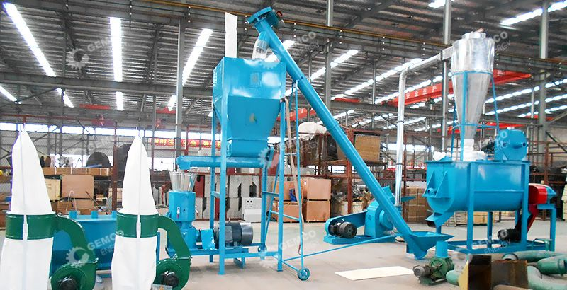 GEMCO Feed Pellet Mill for Animals
