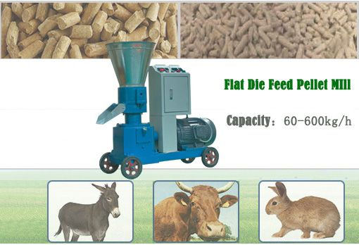 Easily Movable Home Feed Mill for Animal Feed