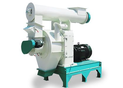 large wood pellet machine