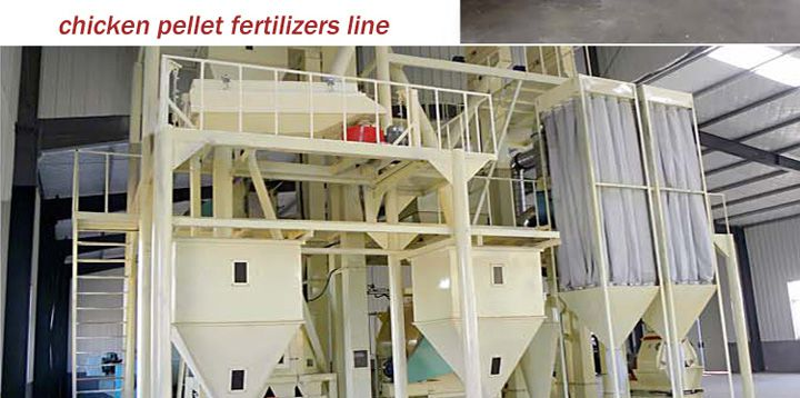 making chicken pellet fertilizers with complete production line