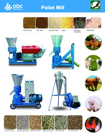 mini feed pellet equipment