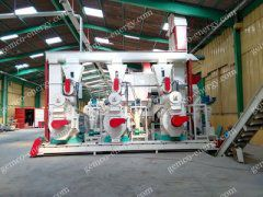 GEMCO new generation wood pellet mill