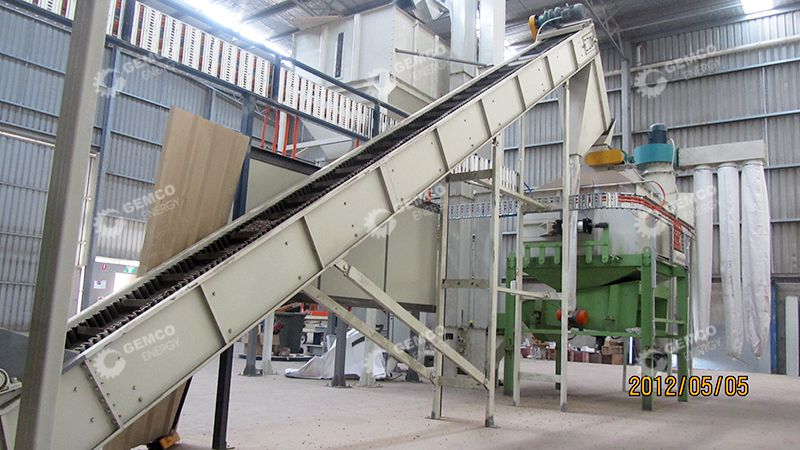 Pellet Belt Conveyer and Cooler