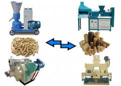 pellet machine or briquette machine