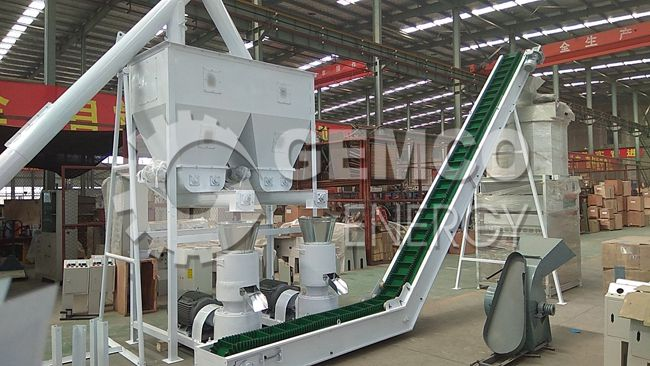 poultry feed pelleting plant
