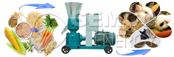 Rabbit Pellet Making Machine for making feed pellets
