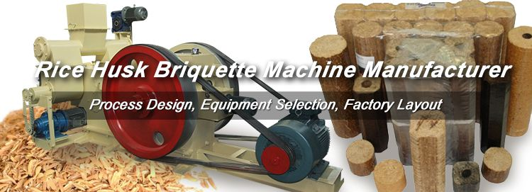 Rice Husk Briquette Machine for Sale