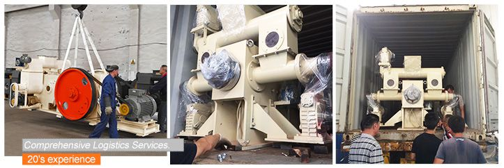 Rice Husk Briquette Machine Shipment