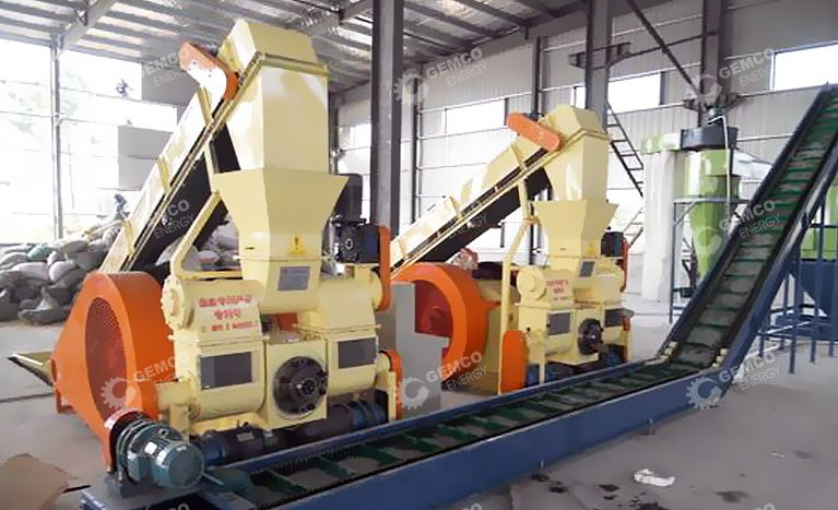 Set up Rice Husk Briquetting Plant