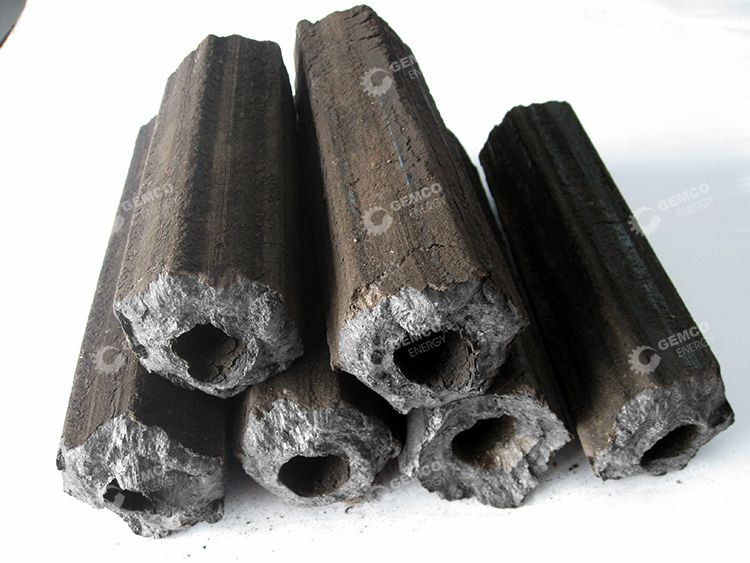 Briquettes Made from Rice Straw