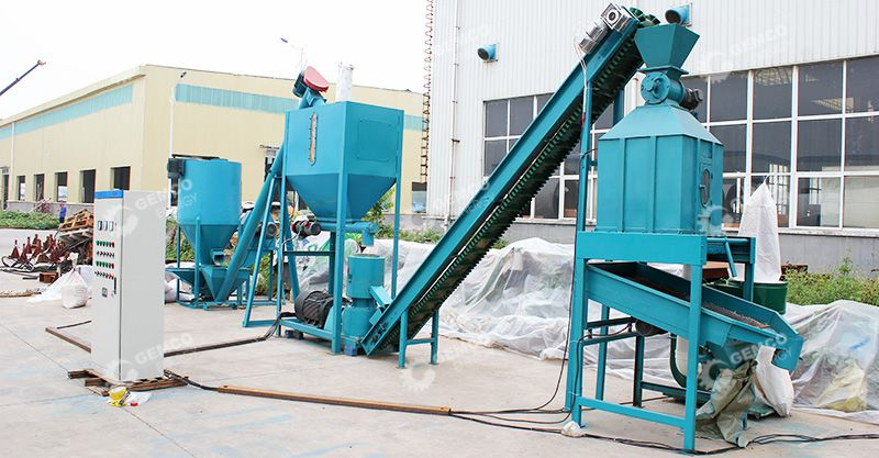 Small Feed Pellet Production Line Gemco