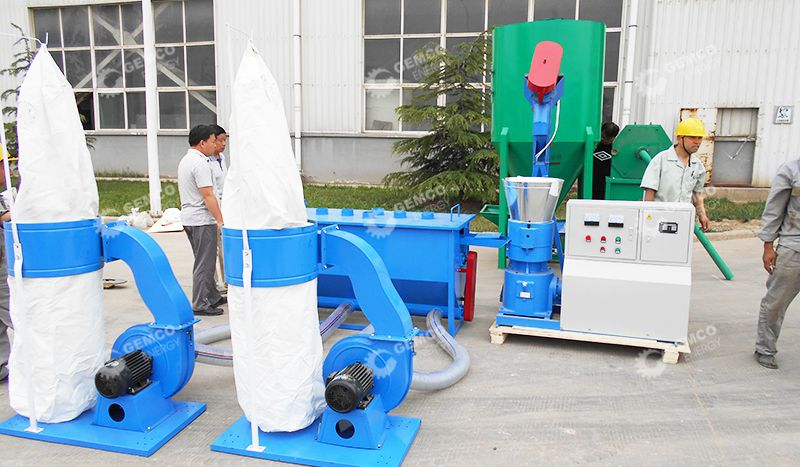 Small Manure Pellet Production Line