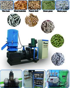small pellet mill (flat die type)