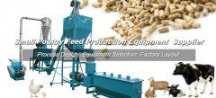 1TPH Small Poultry Feed Production Line