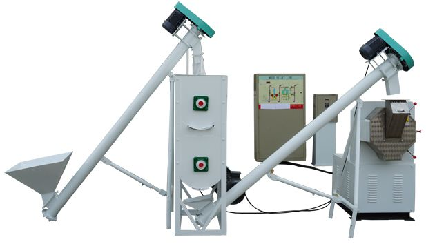 Small Scale Simple Animal Feed Plant Unit
