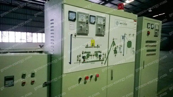 wood pellet plant electric control cabinet
