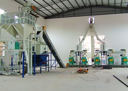 8 ton per hour wood pellets plant