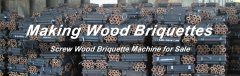Wood Sawdust Briquette Machine Types and Process